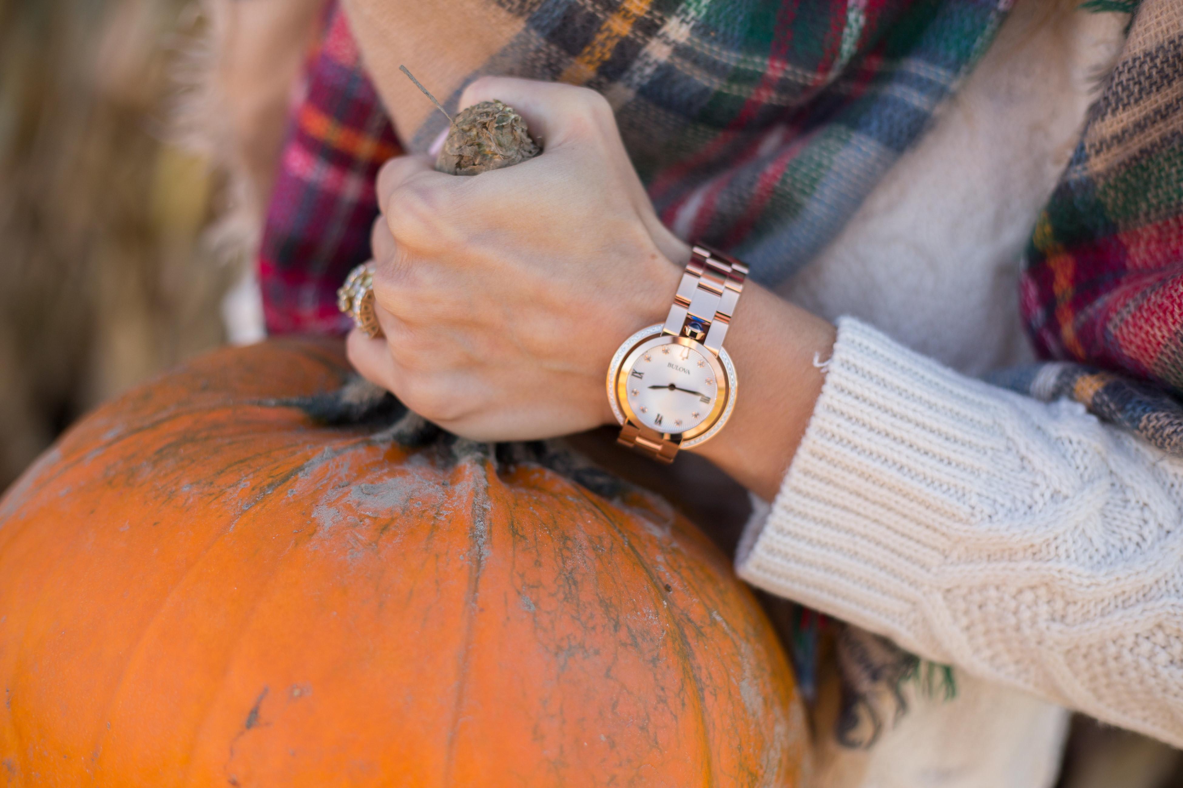 sparkleshinylove Bulova women's Rubaiyat watch in rose gold