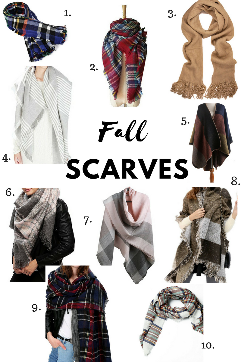 Favourite Fall Scarves