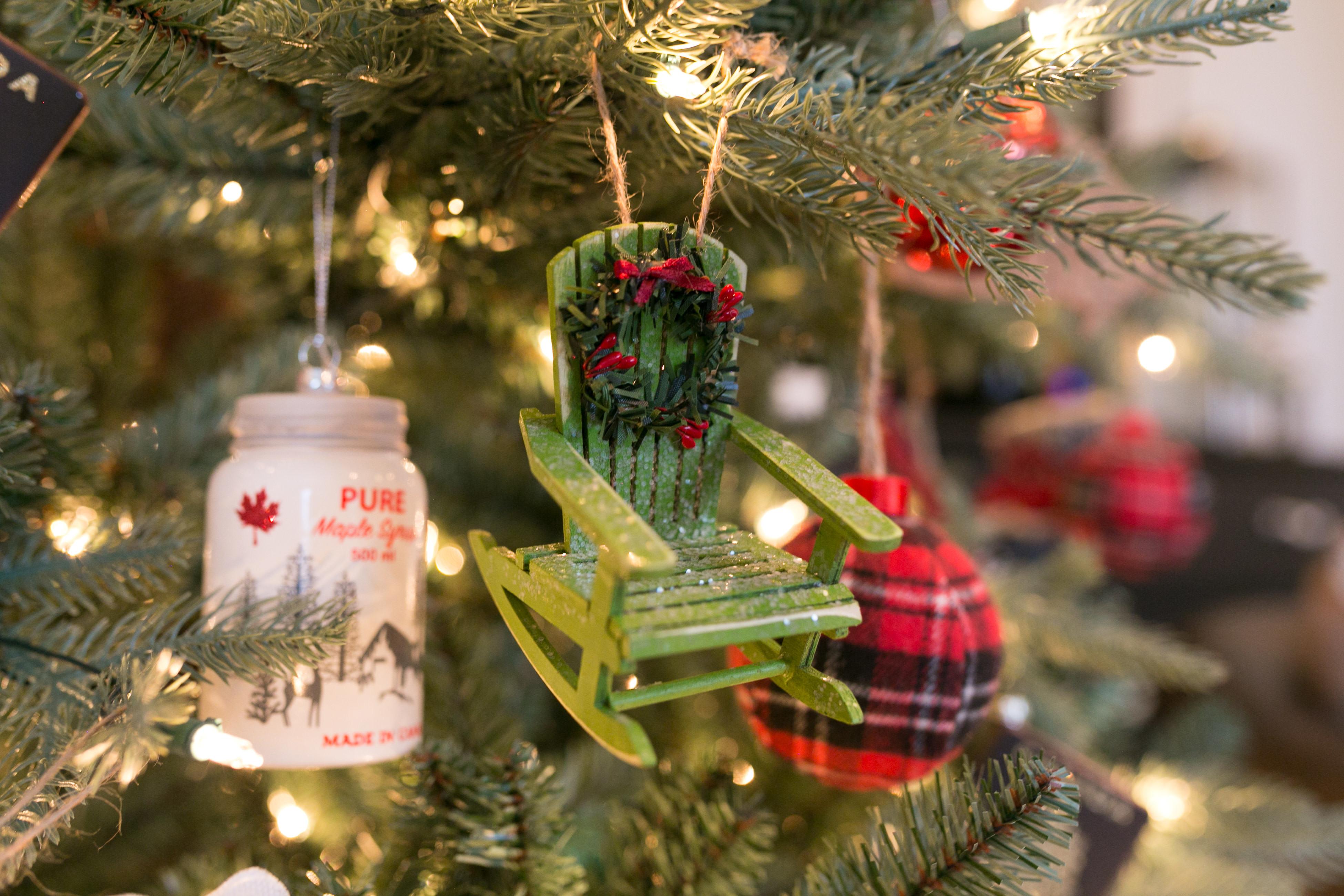 Canadian Tire canadiana ornaments - sparkleshinylove