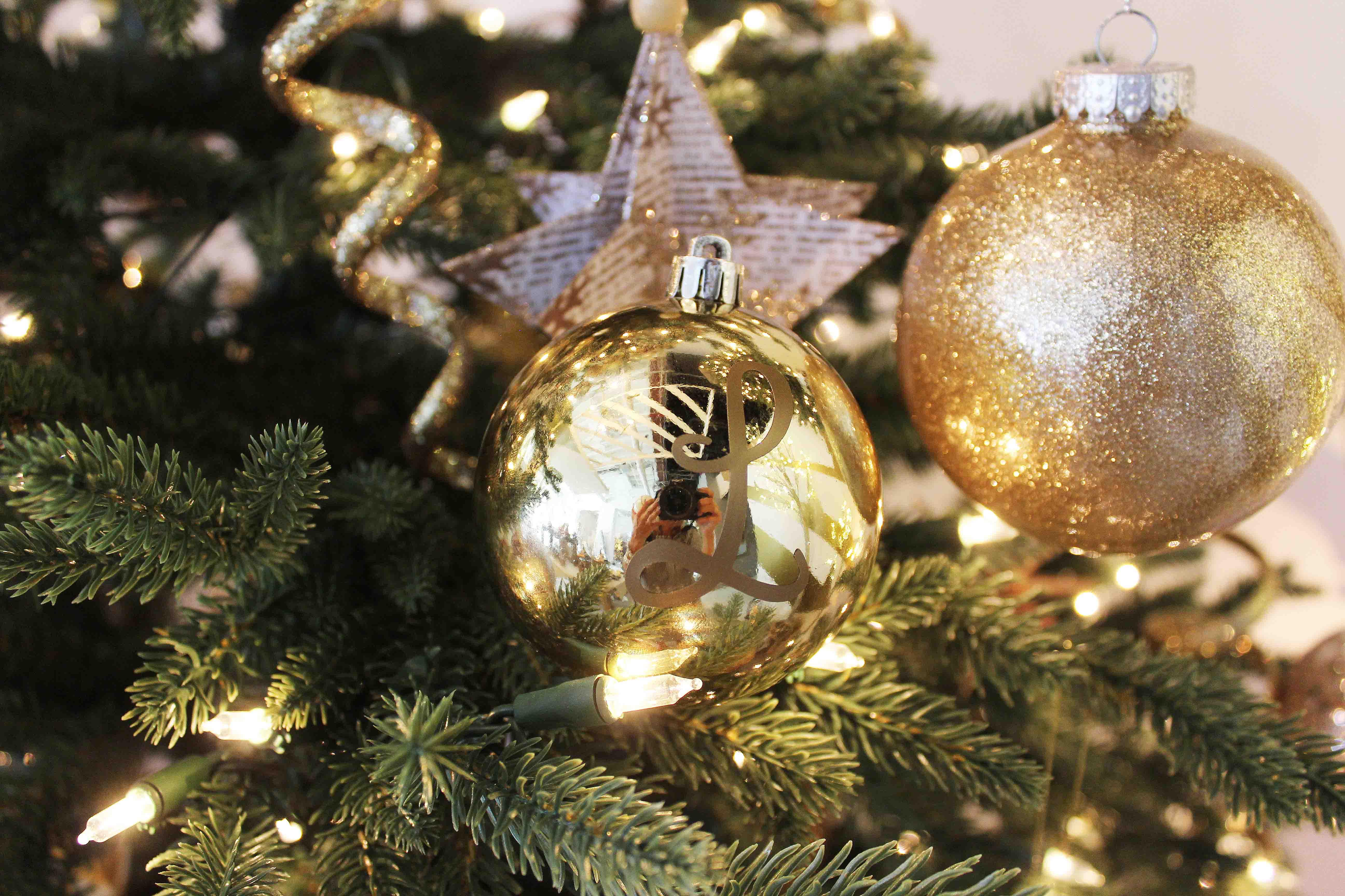 DIY Canvas Ornaments for Christmas