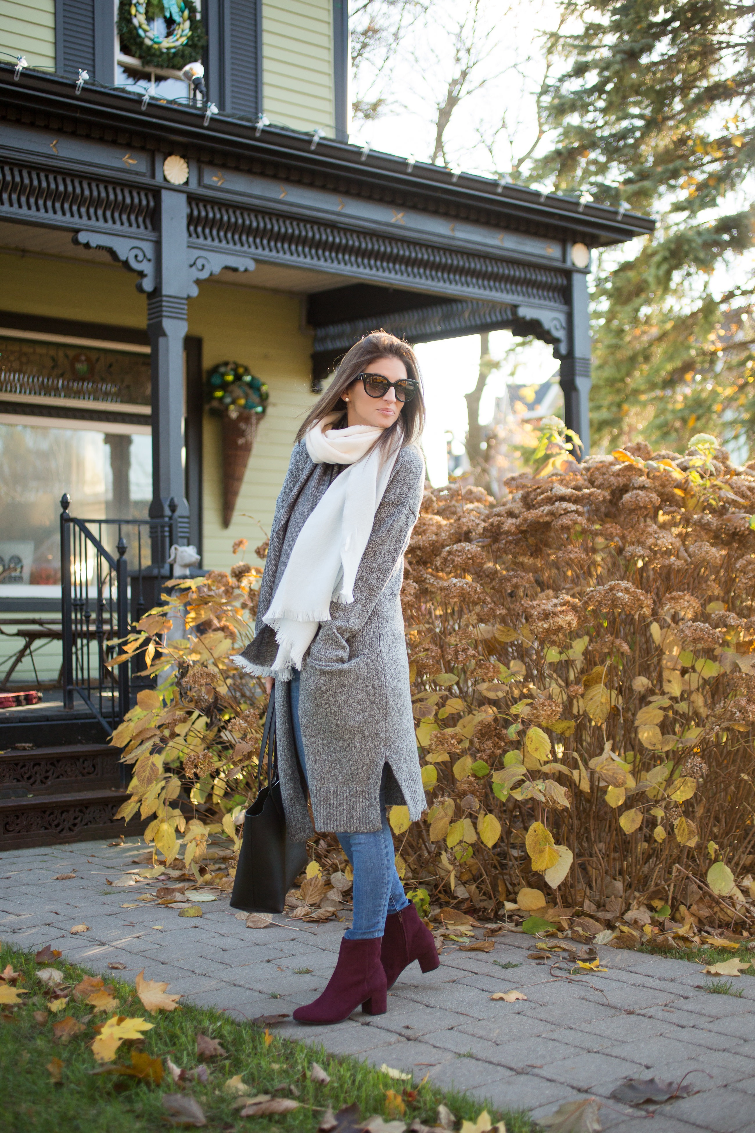 the best look for winter from blogger sparkleshinylove