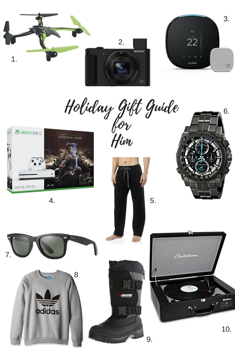 Holiday Gift Guide for Him sparkleshinylove amazon.ca