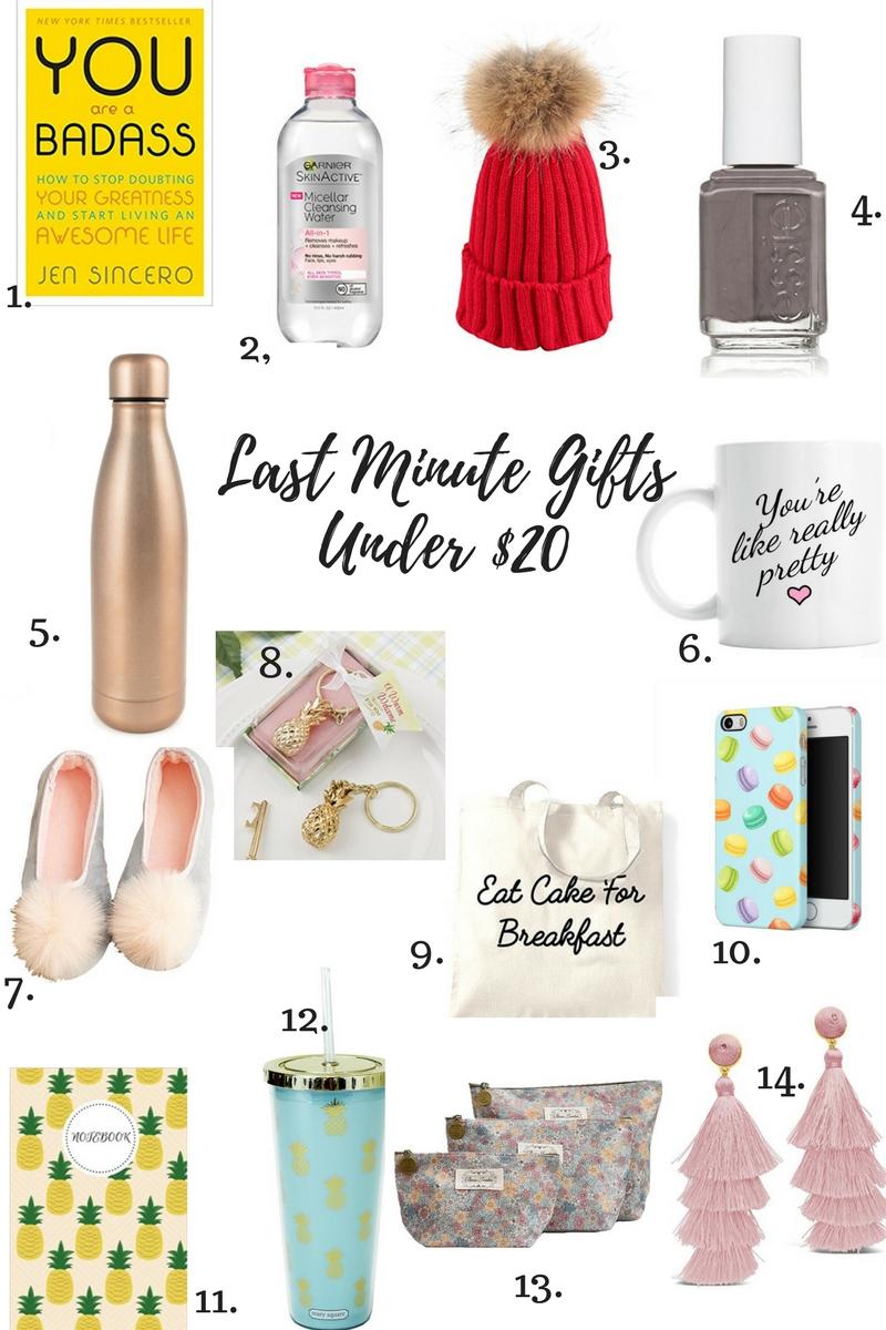 Last Minute GiftsUnder $20