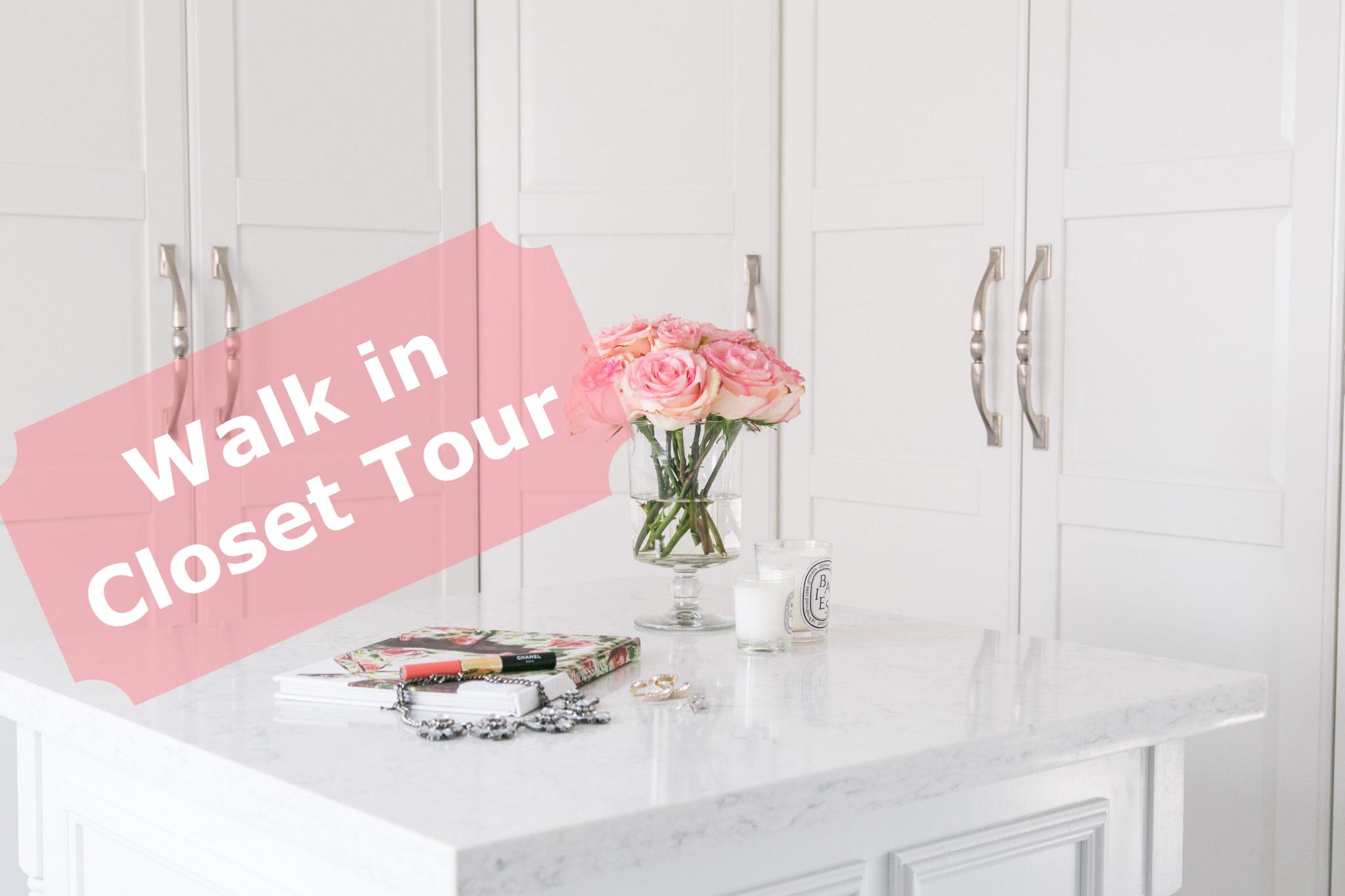 Video walk in closet tour ikea Pax Wardrobe hack sparkleshinylove
