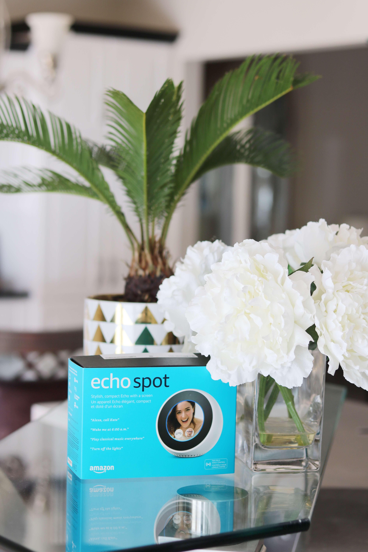 Amazon Echo Spot review sparkleshinylove