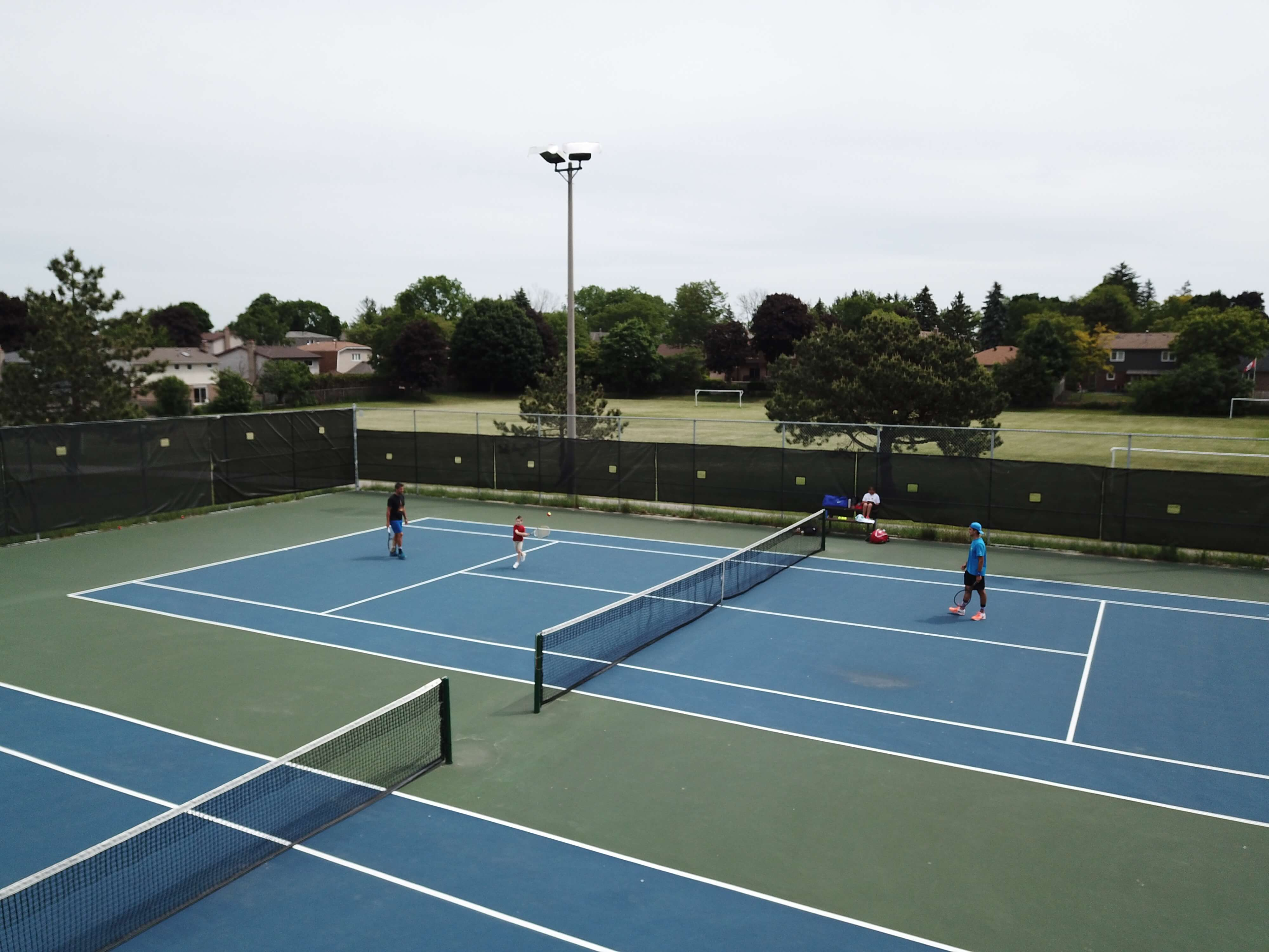 Spending the Summer with Nike Tennis Camps; Durham Region Kids camps for tennis