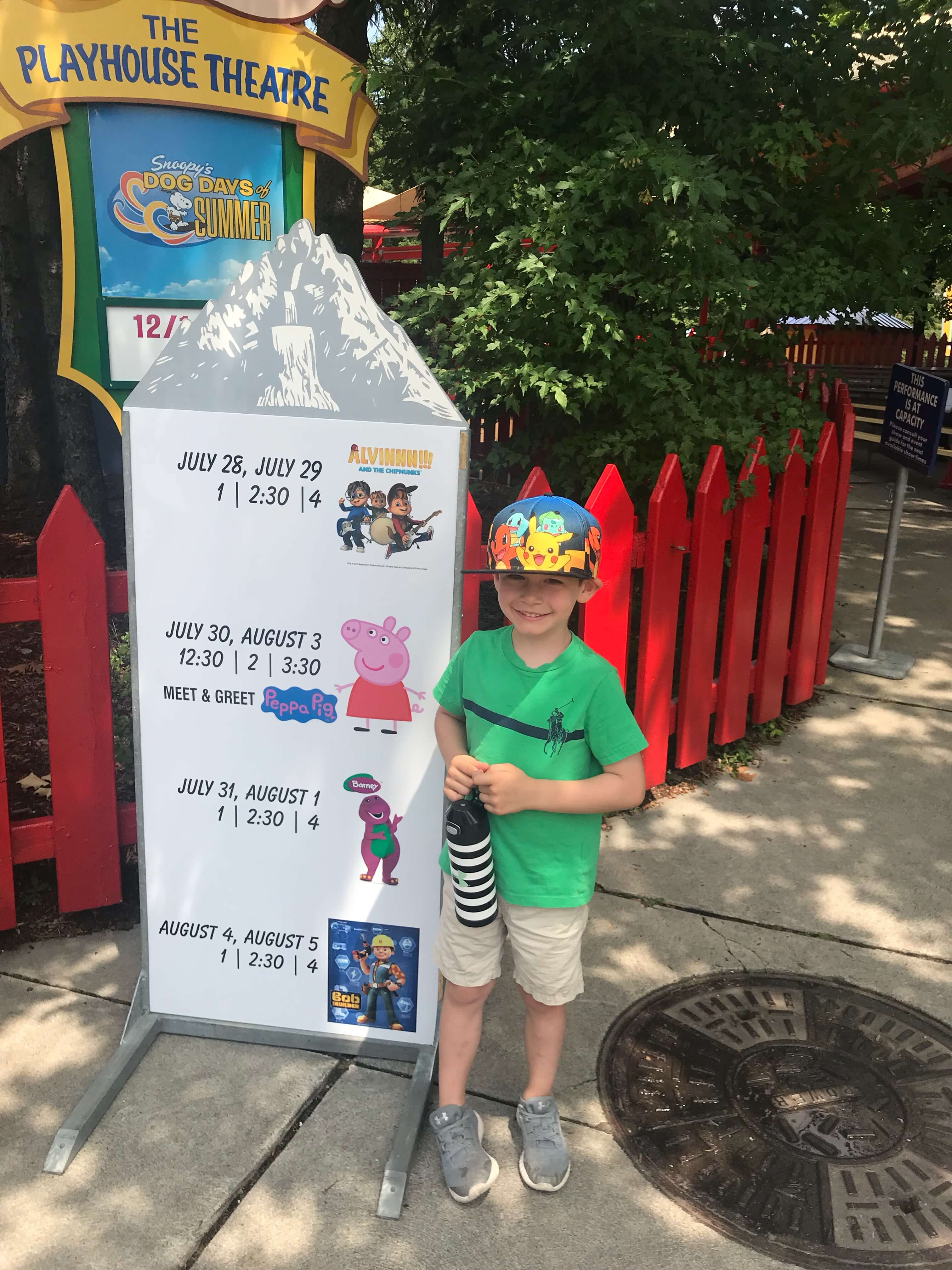 Checking out KidZFest at Canada's Wonderland