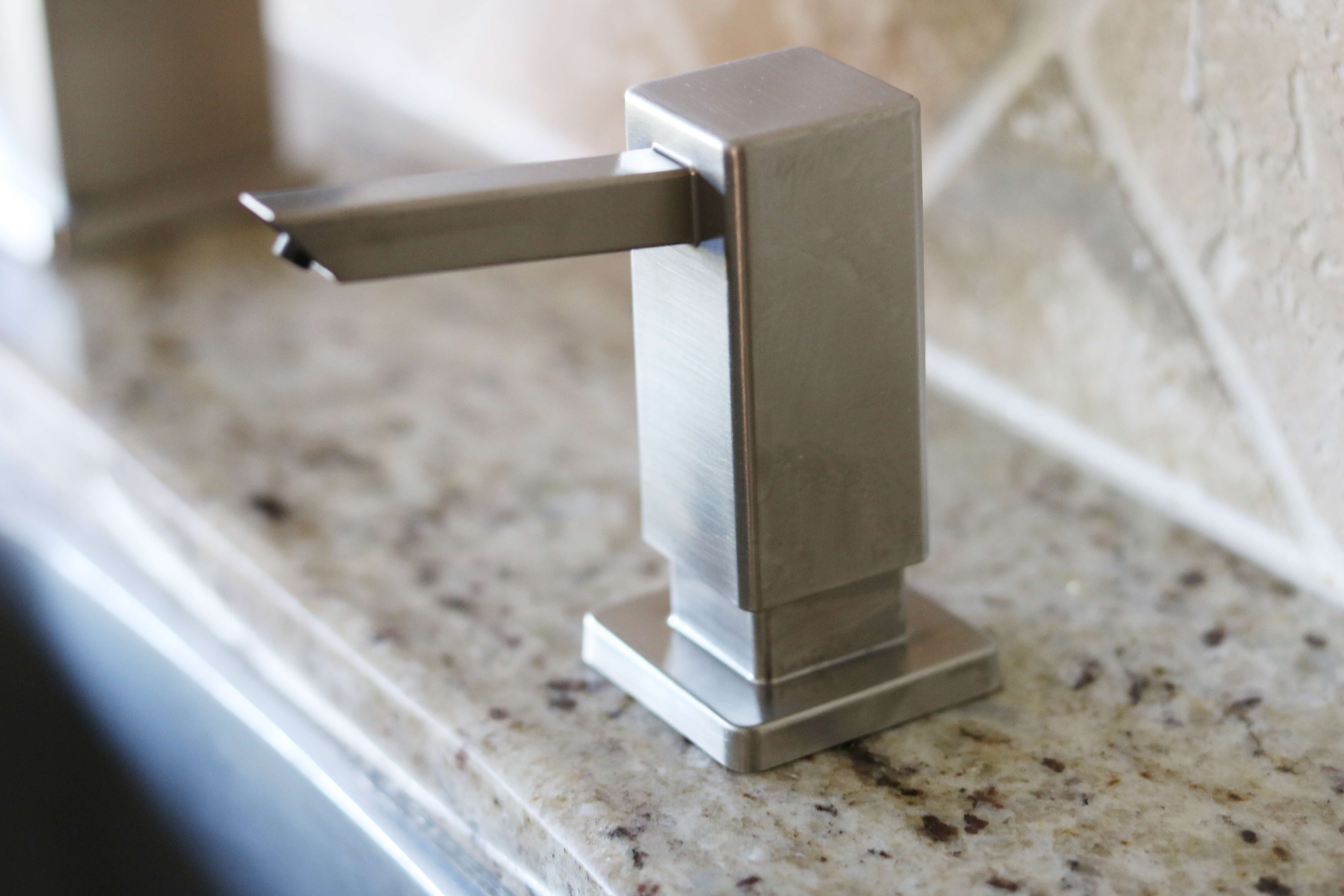 "Home Depot Canada Kitchen update Grohe ""Tallinn"" Kitchen Pull-Out Faucet sparkleshinylove"
