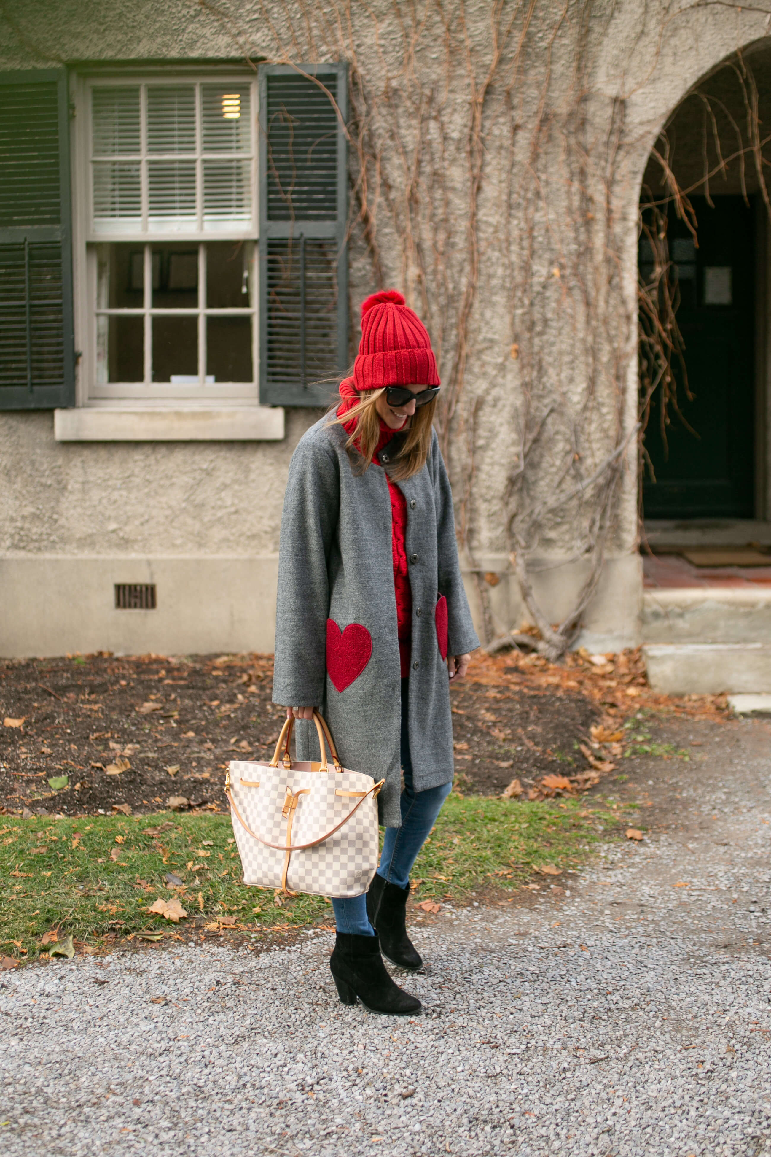 Coat with heart pockets; best winter coats; sparkleshinylove whitby blogger Mandy Furnis