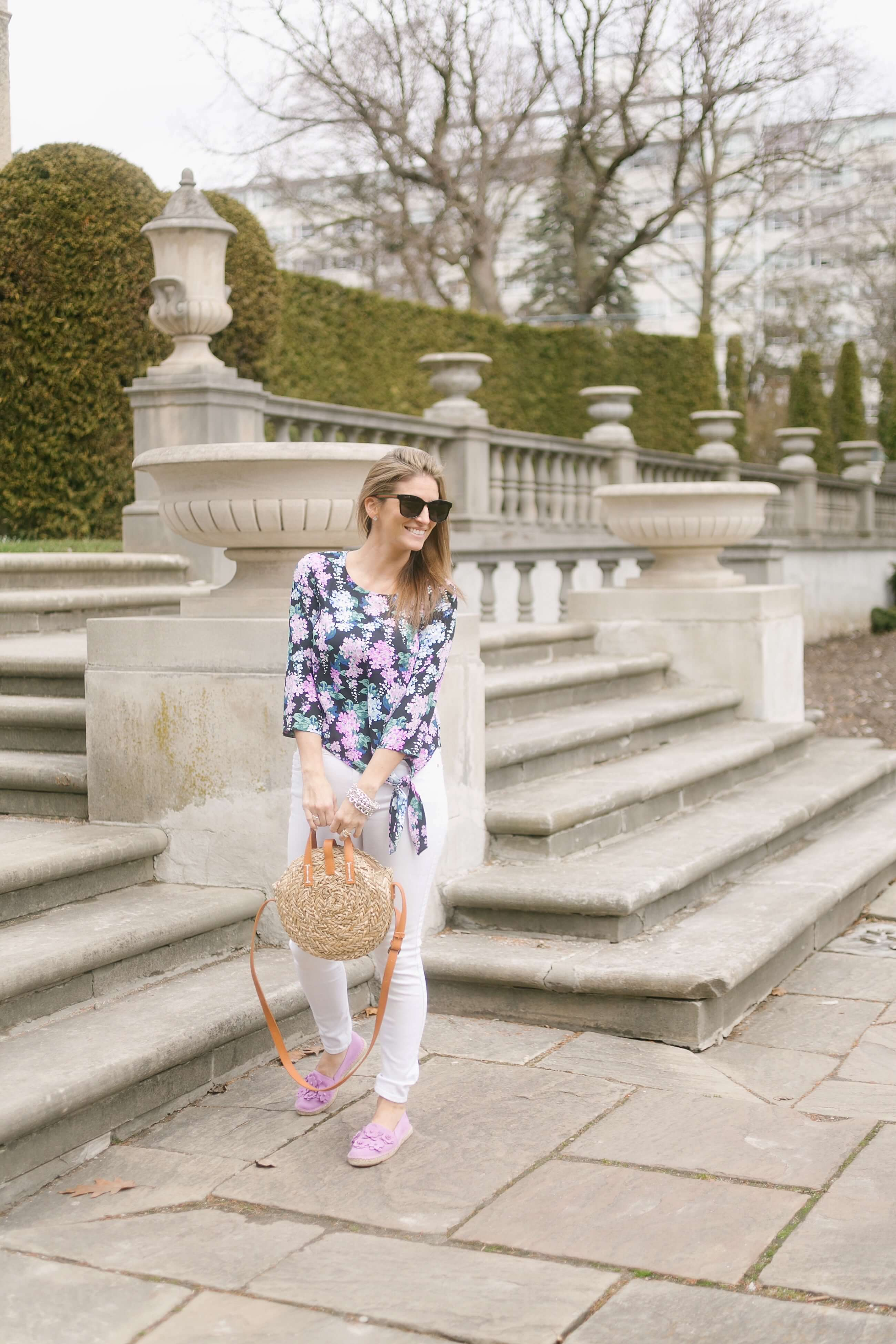 Spring look from Talbots; mandy furnis sparkleshinylove whitby blogger