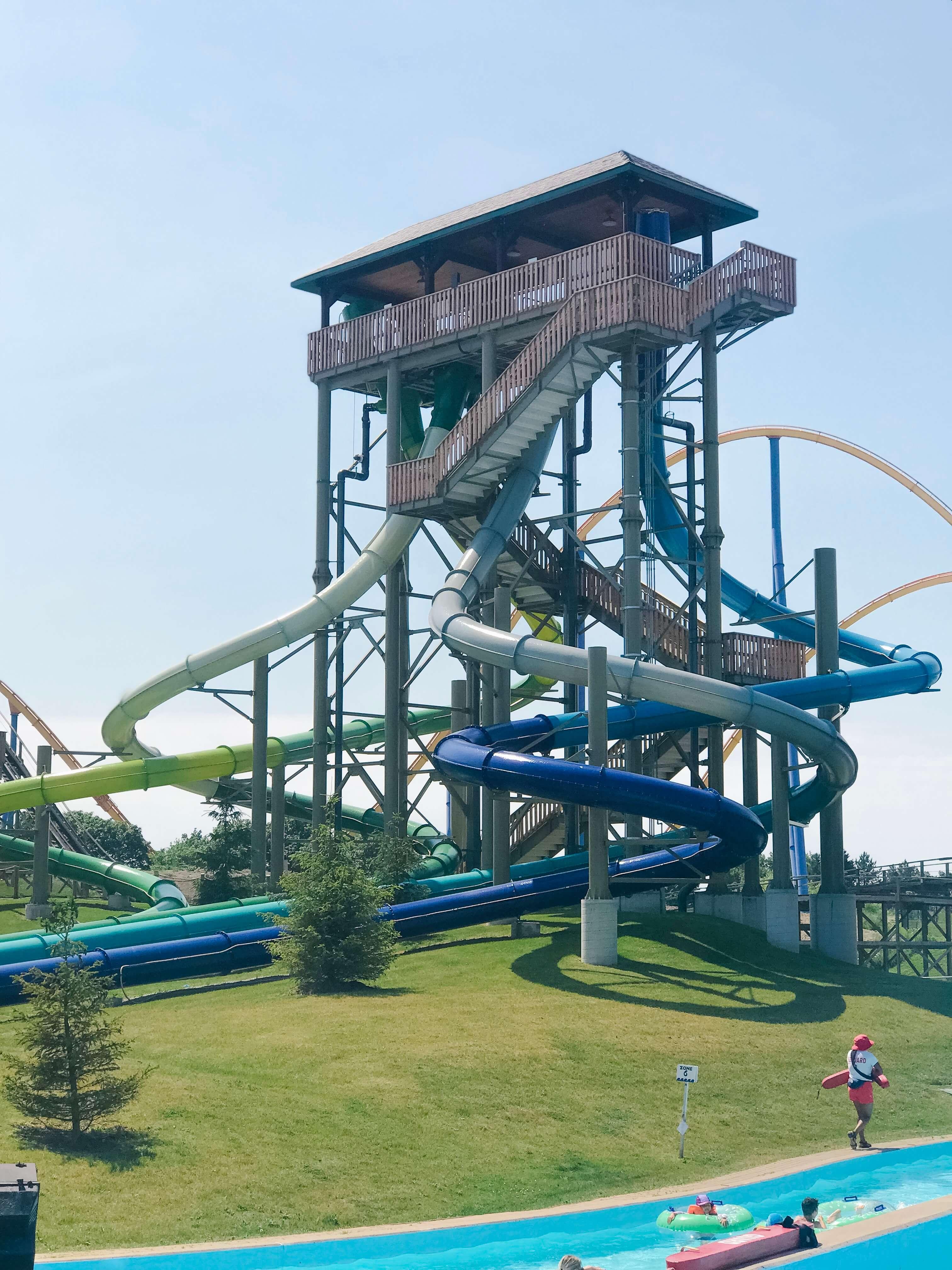 What to do at Canada's Wonderland's splash works; #wondercrew