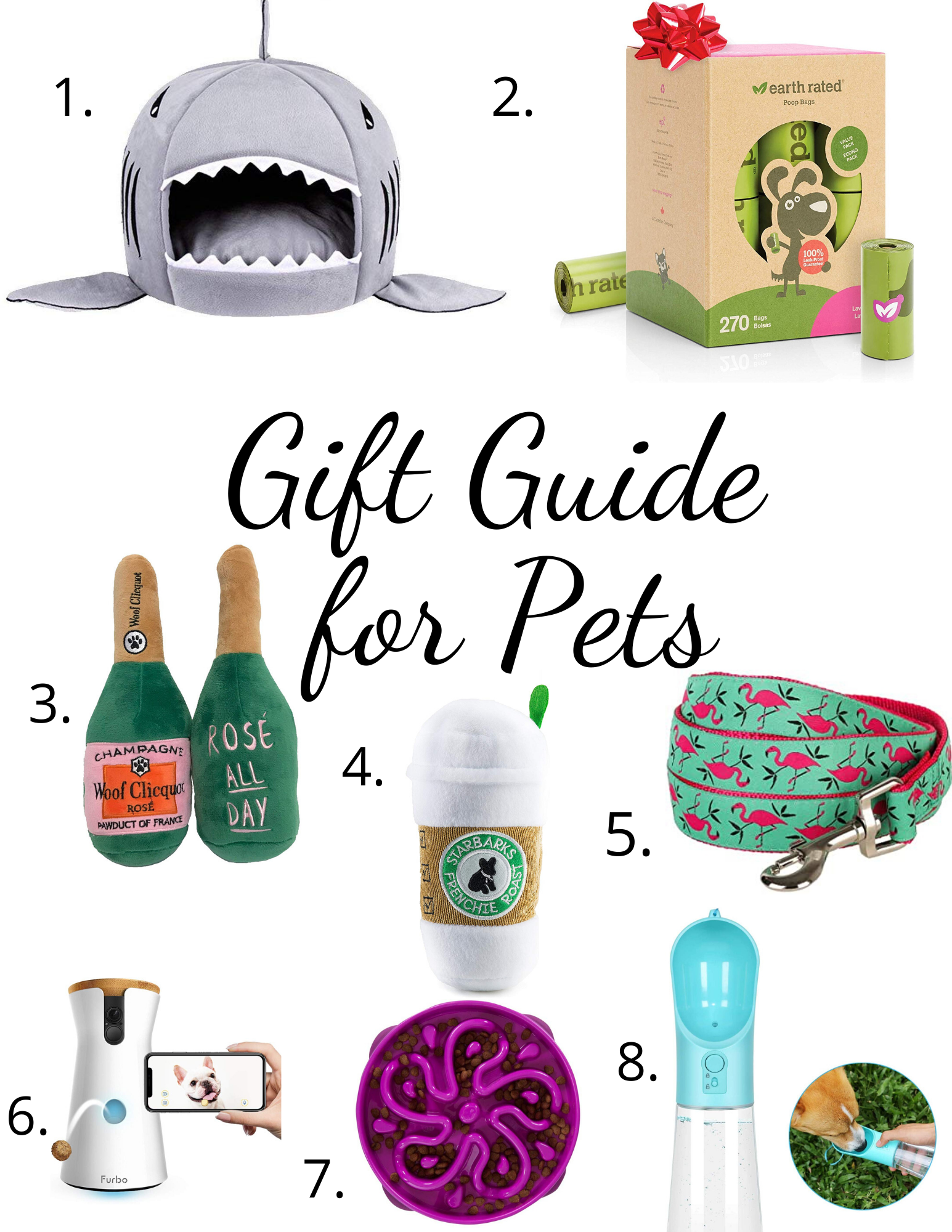 Christmas holiday Gift Guide for Pets sparkleshinylove; gift ideas for pets