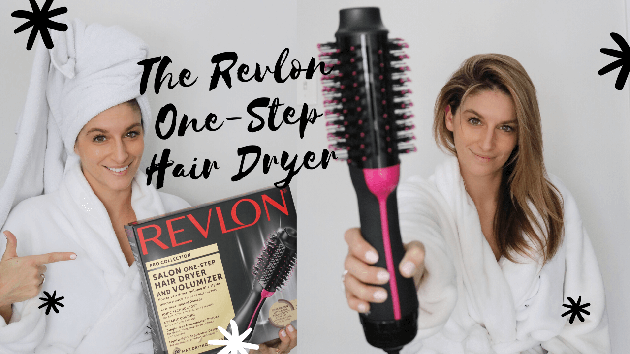 Review of the REVLON ONE-STEP HAIR DRYER AND VOLUMIZER  Hot Air Brush