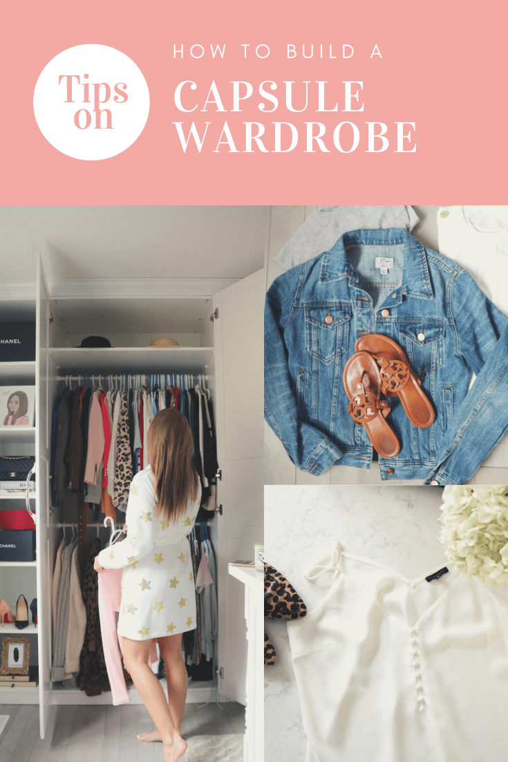 Tips on how to create your own Capsule Wardrobe!