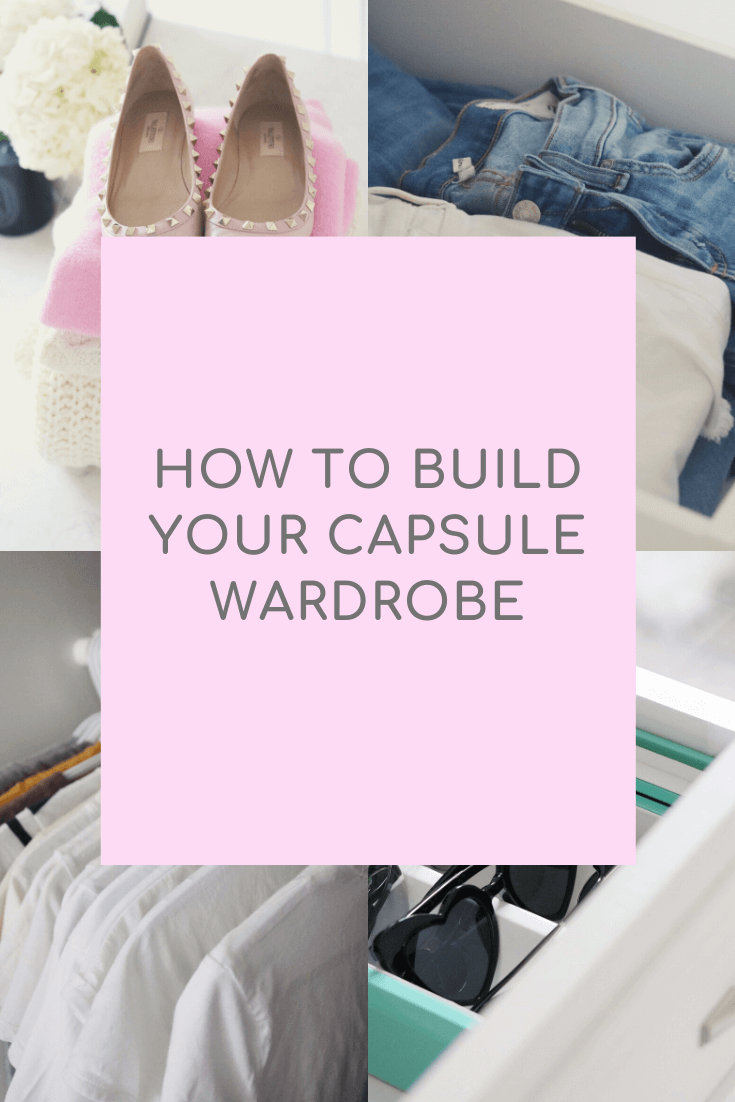 How to build a Capsule Wardrobe!  The basics you need to get started to create your own capsule wardrobe