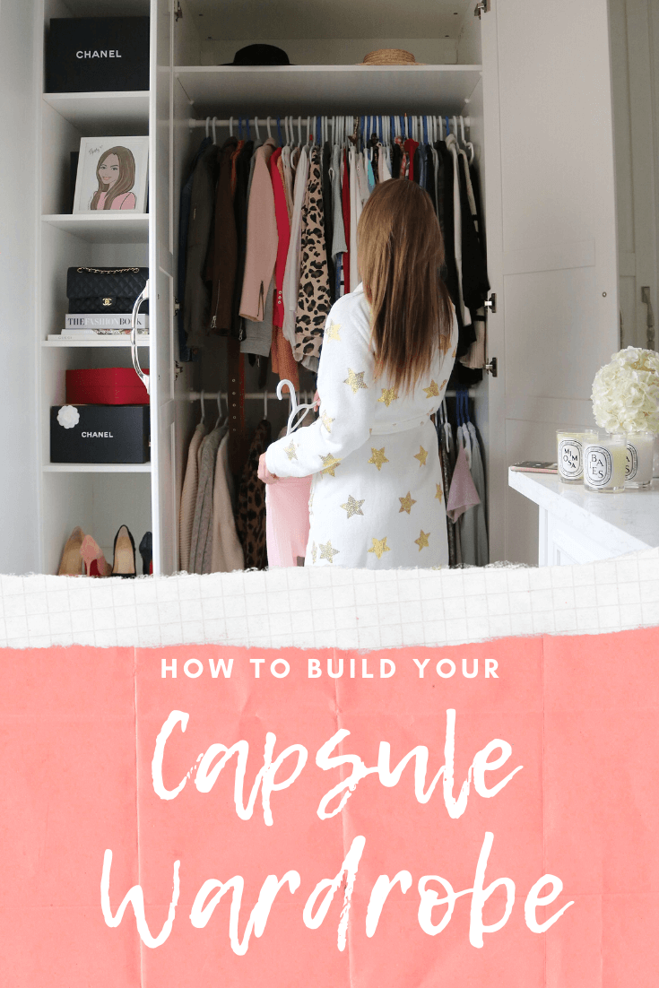 How to build your own capsule wardrobe!  What basics you need in your closet to have a capsule wardrobe