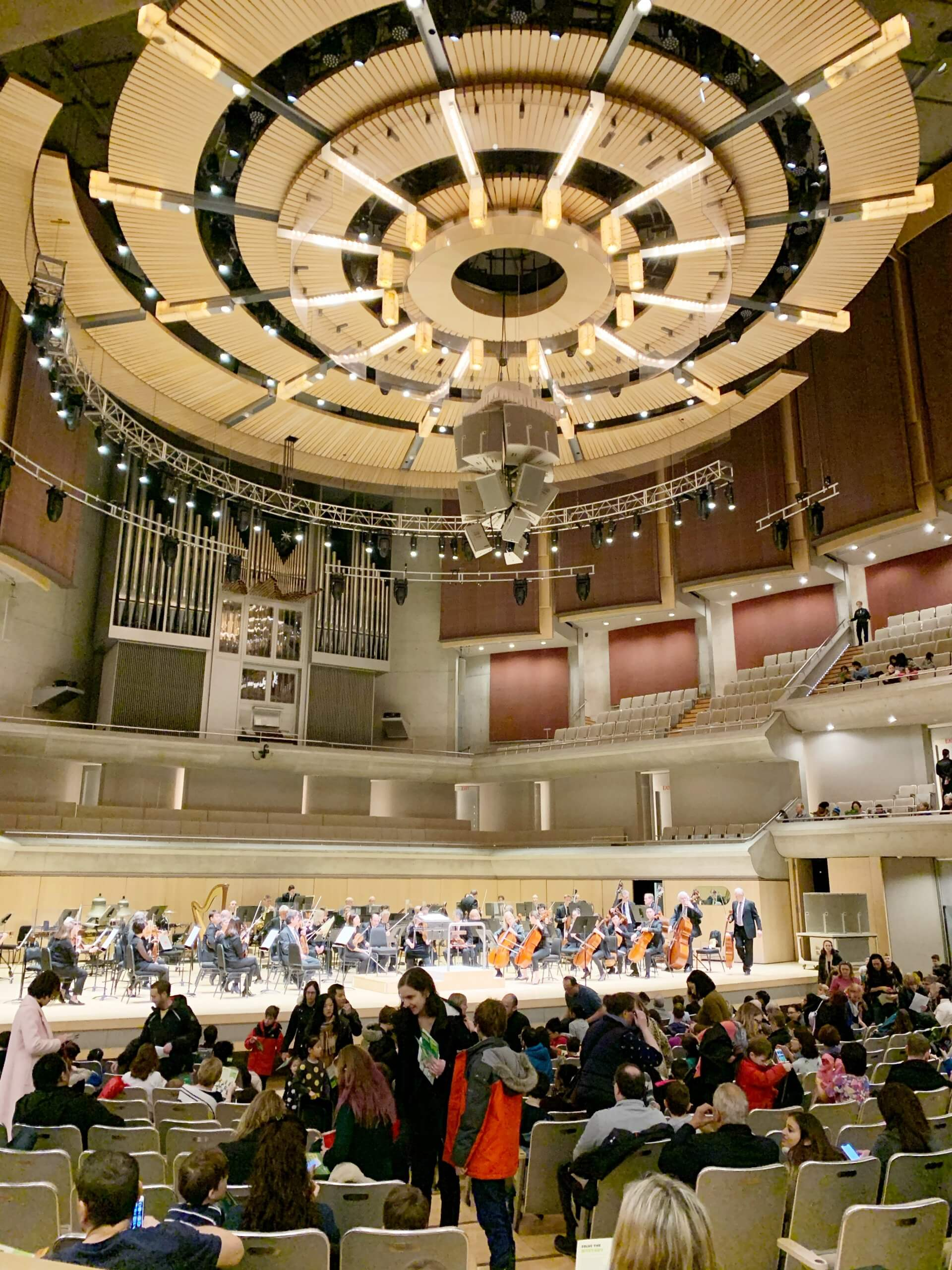 Our Experience at the Toronto Symphony Orchestra's Young People's Concert