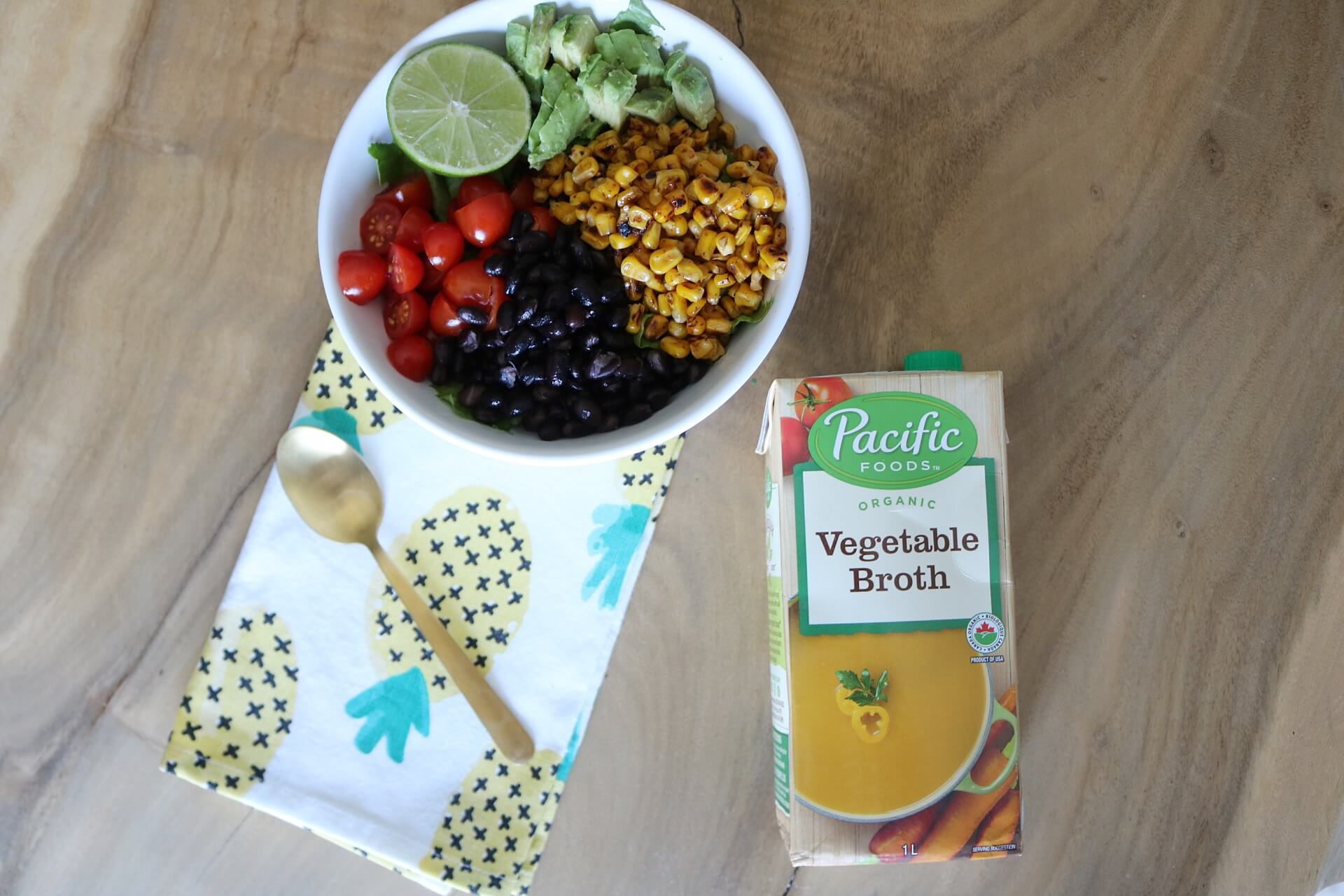 Nourishing and Easy Mexican Quinoa Bowl with Pacific Foods