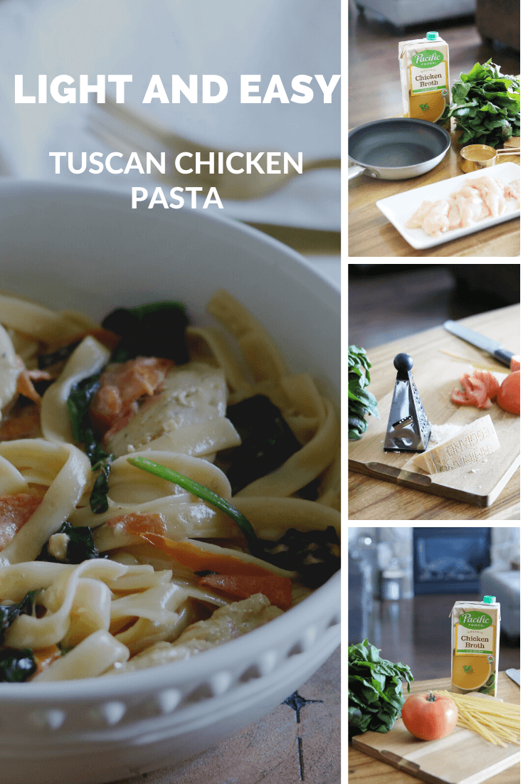 Tuscan Chicken Pasta Pacific Foods