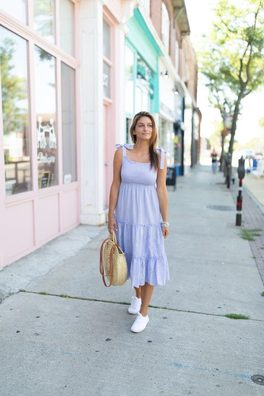 Blue Chicwish maxi dress sparkleshinylove Mandy Furnis