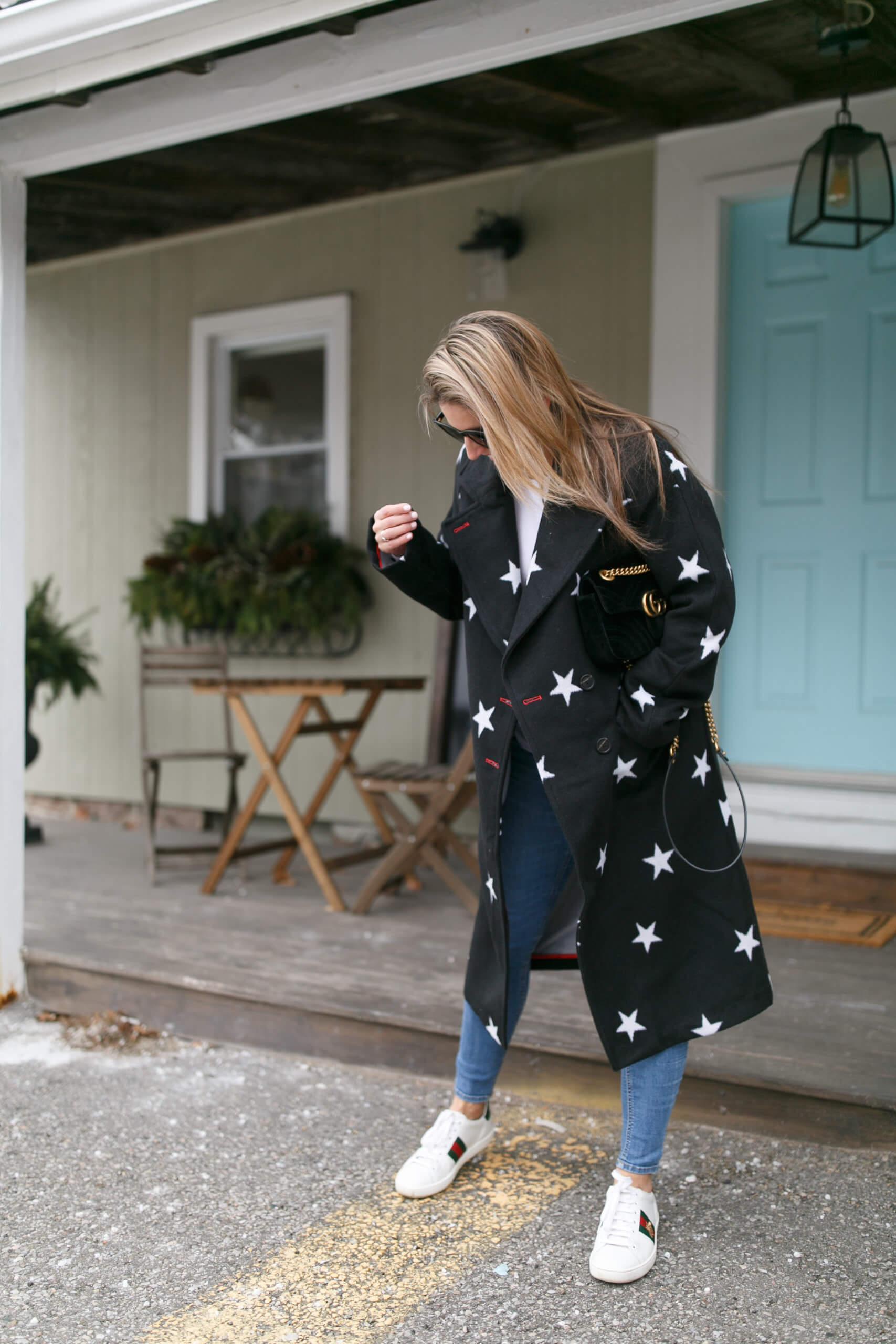 Avec Les Filles Star Coat; winter style sparkleshinylove  Mandy Furnis; Durham Region Blogger; Pretty Winter coats