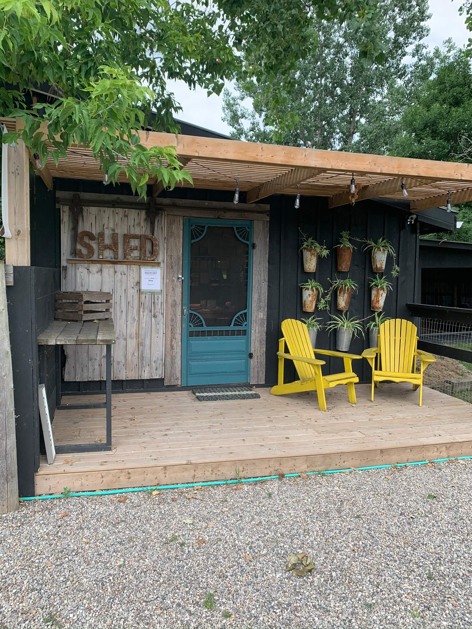 The Studio-Shop at Shed Chetwyn Farms