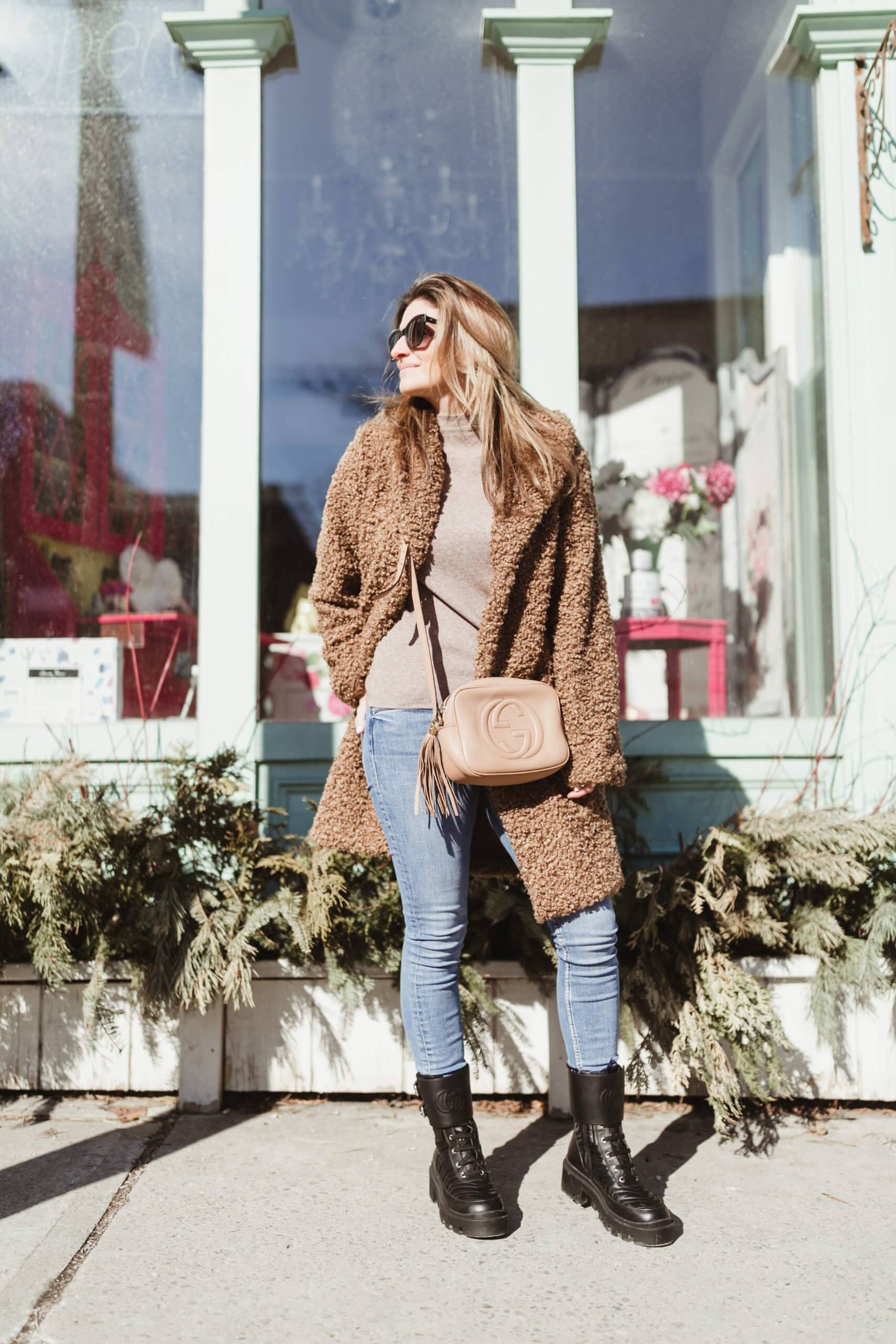 Chicwish Teddy Bear coat; winter style; sparkleshinylove