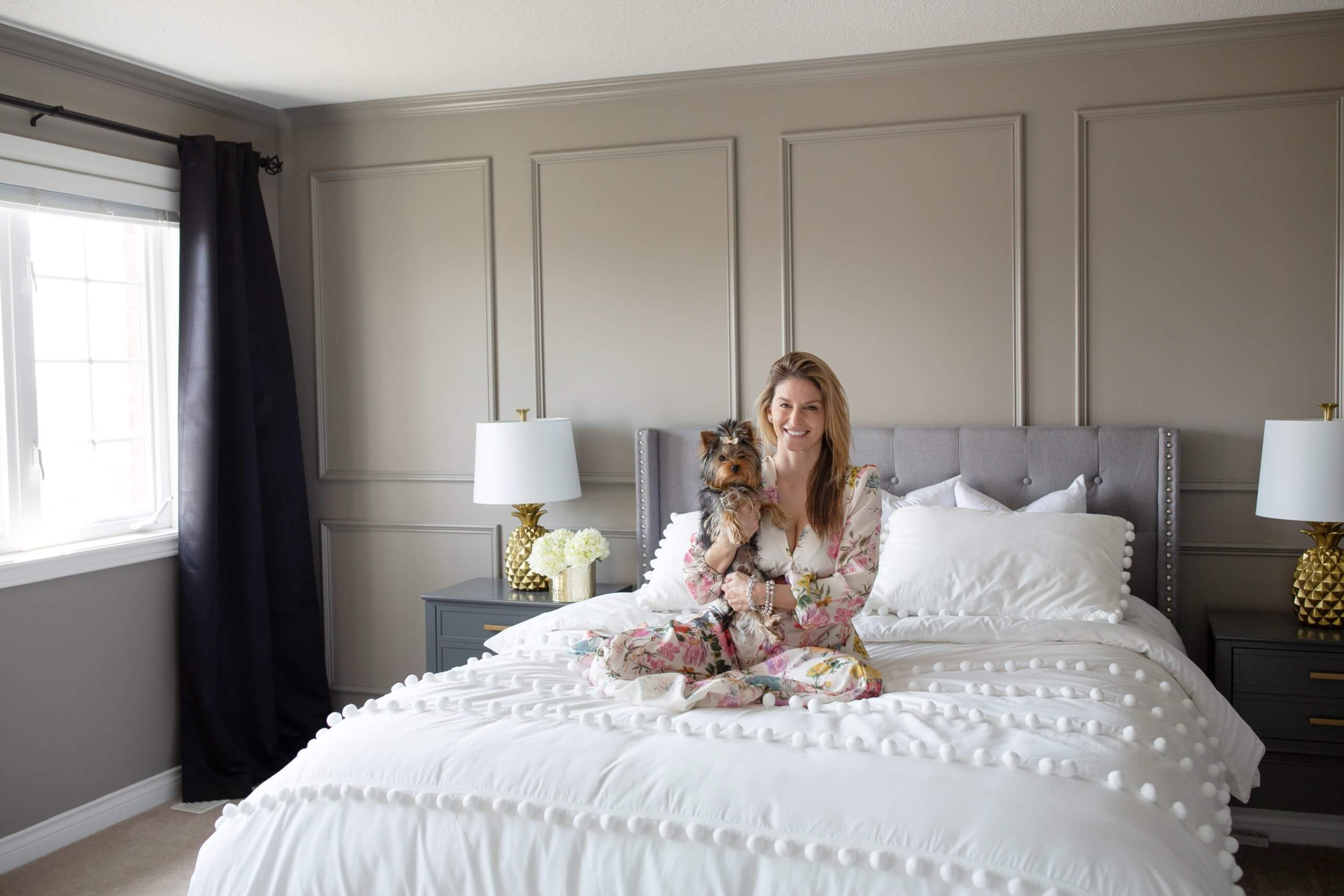 Our Bedroom Makeover with Wayfair! sparkleshinylove Mandy Furnis; bedroom makeover ideas