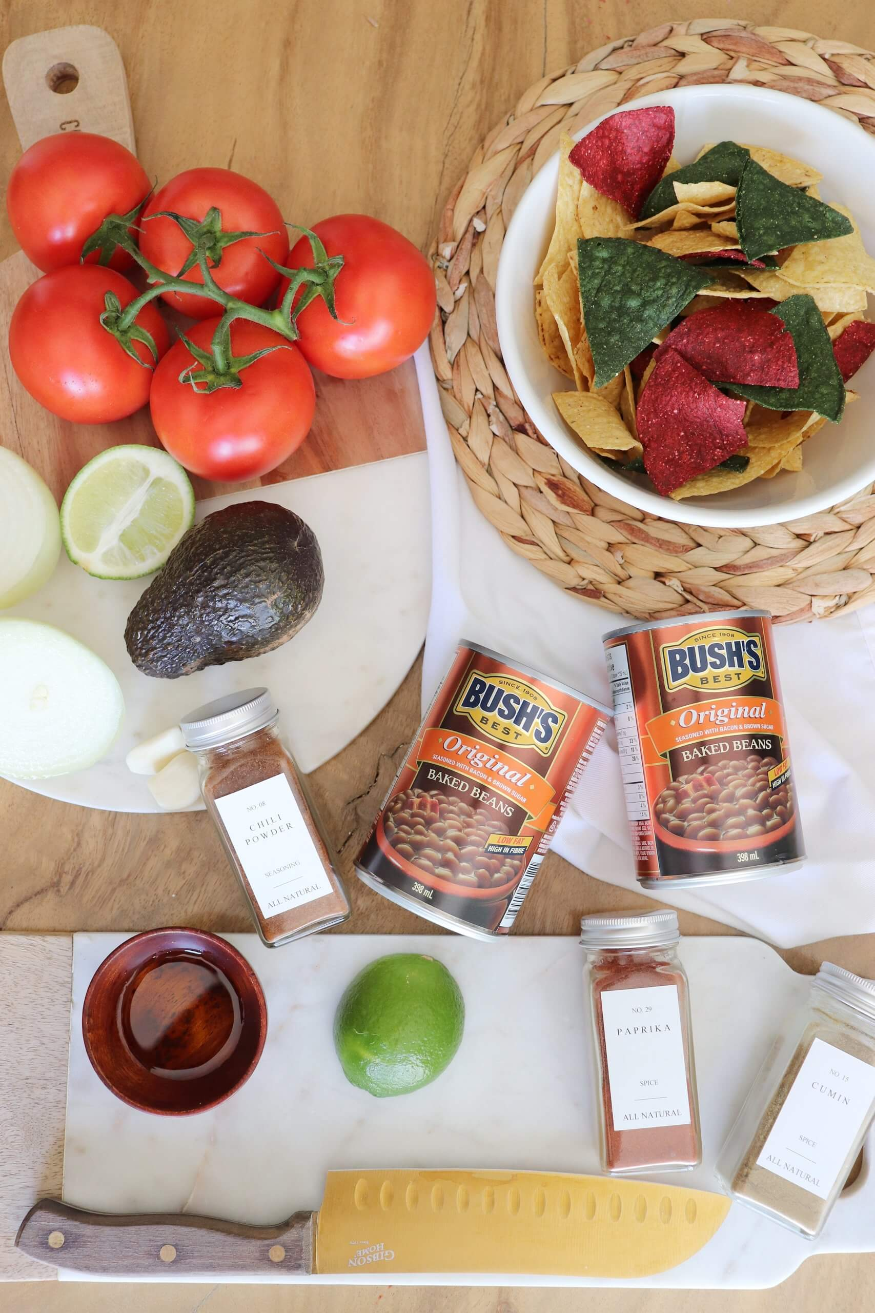 Mexican Bean Bake Starring Bush's® Original Baked Beans!