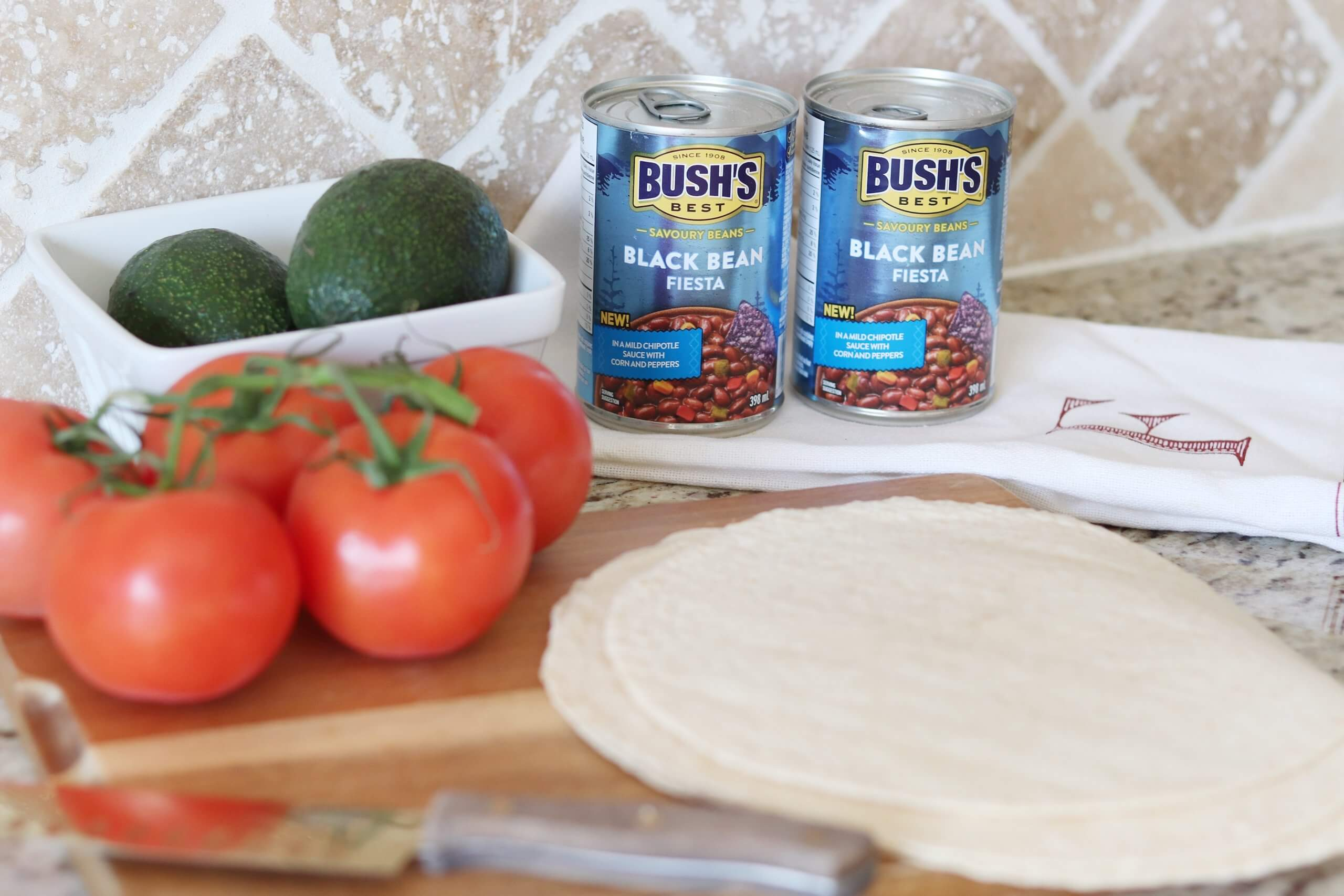 Spicing up Lunch with Black Bean Fiesta Quesadillas!