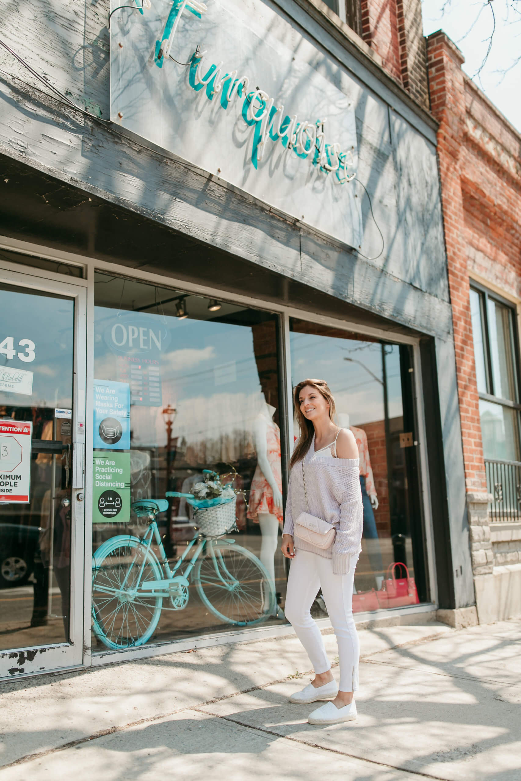 Spring with Turquoise Boutique; shop durham region ; whitby shopping